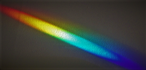 Rainbow on Wall